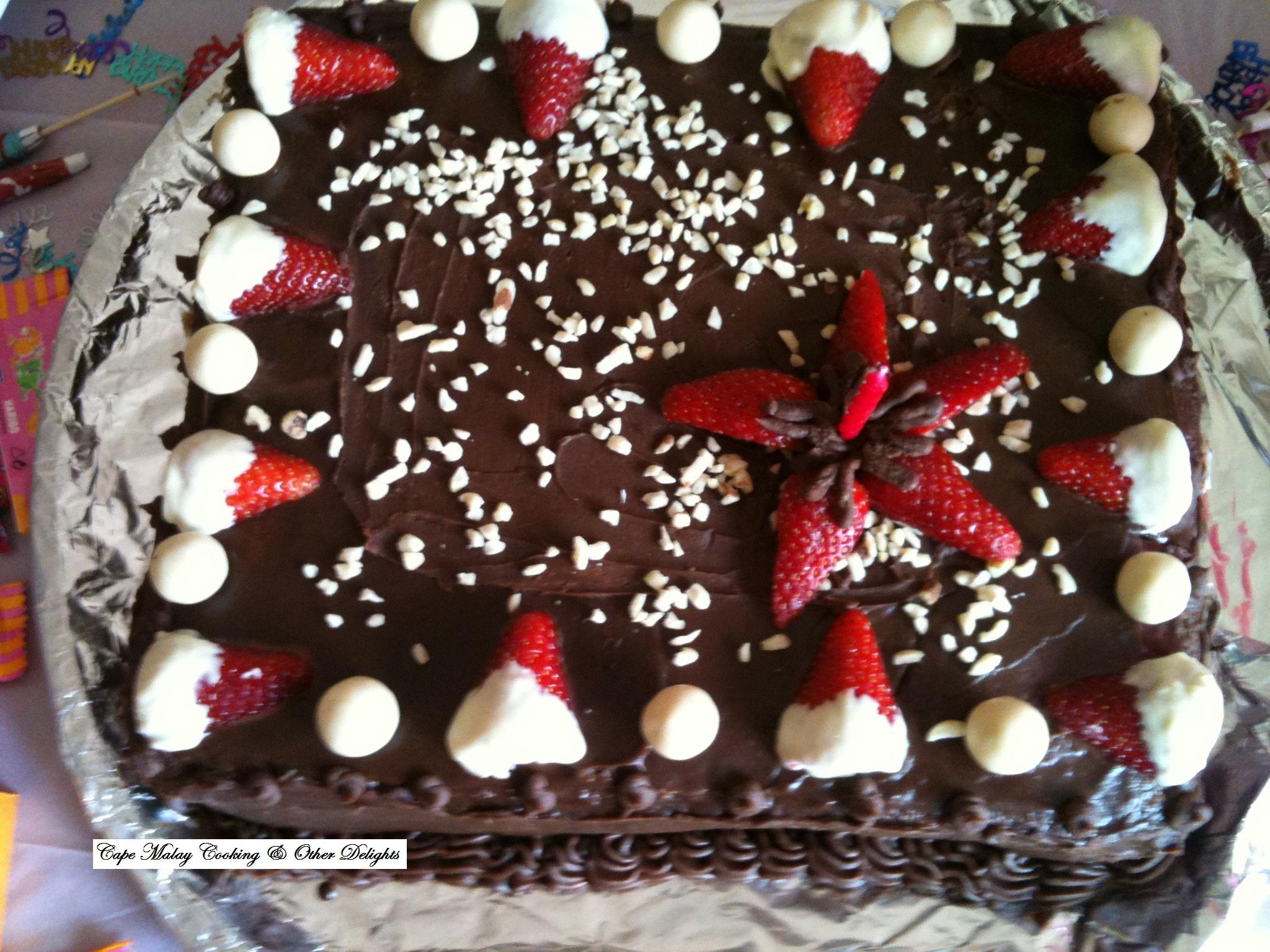 Cape Malay Chocolate Cake