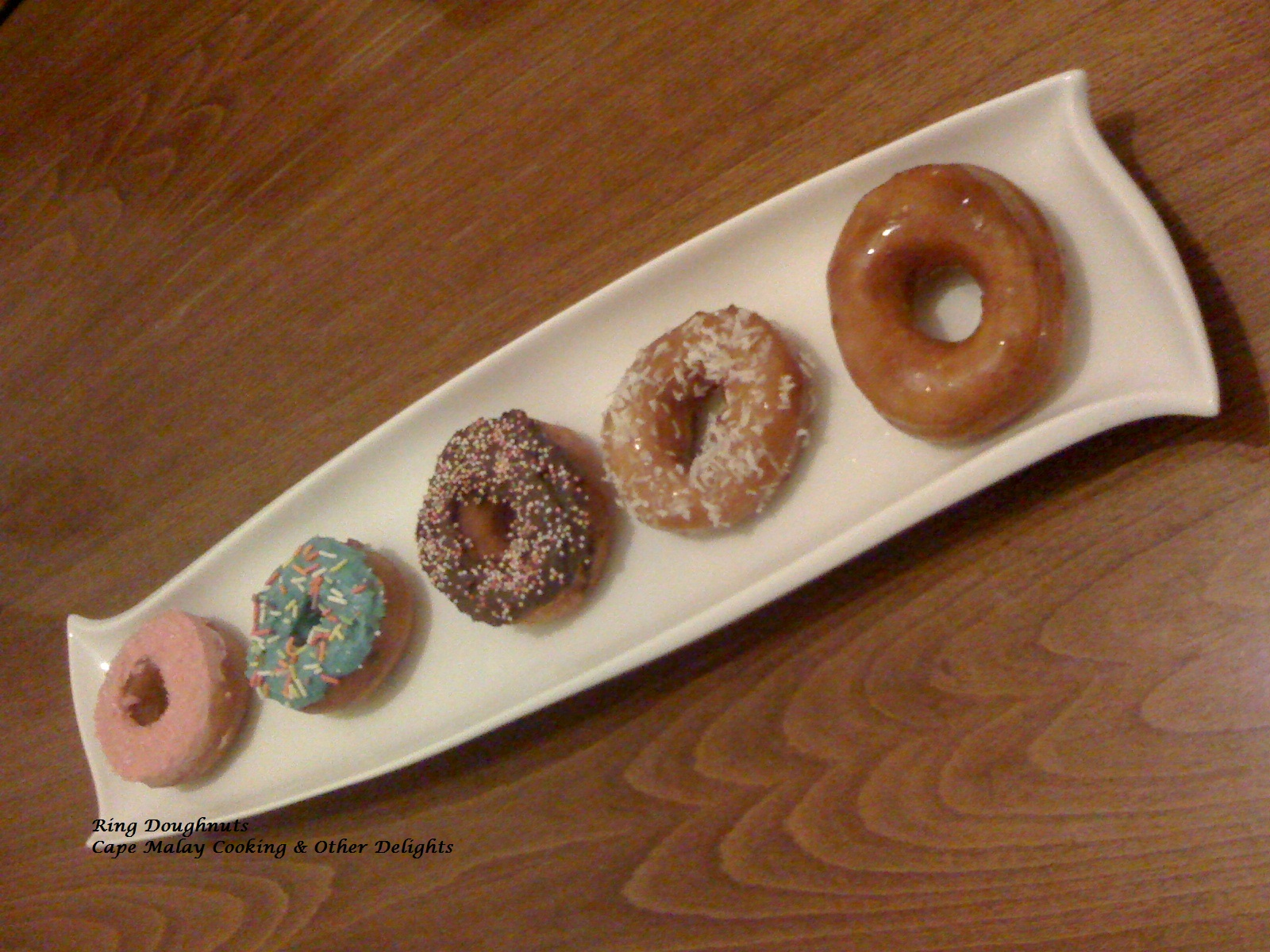 Cinnamon Ring Doughnuts   Cape Malay Cooking & Other Delights - Salwaa Smith