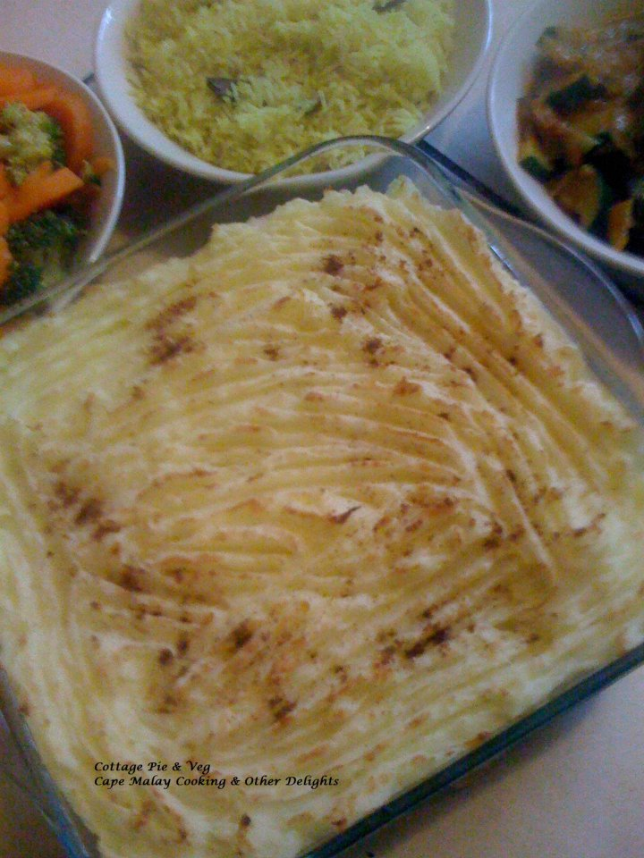 Cottage pie cape malay cooking other delights salwaa smith shepherds pie forumfinder Image collections