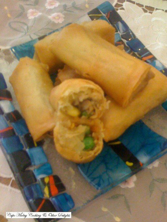 Crispy Fried Spring Rolls
