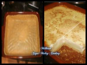 Traditional Cape Malay Milk Tart