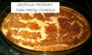 Selfcrust Milk Tart