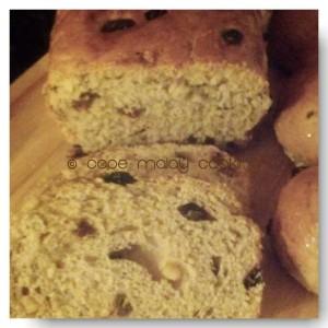 Raisin Buns / Loaf