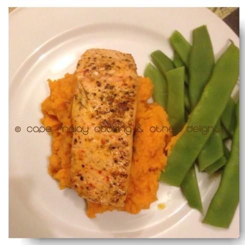 Salmon & Sweet Potato