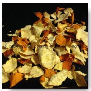 Dried naartjie / Satsuma peels