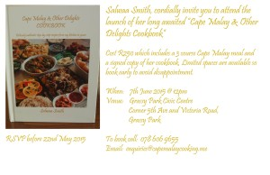 Cookbook Launch