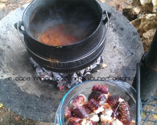 Crayfish Potjie