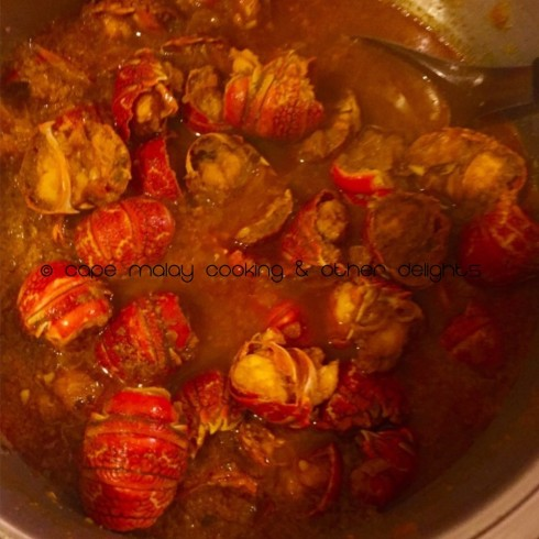 Crayfish Curry