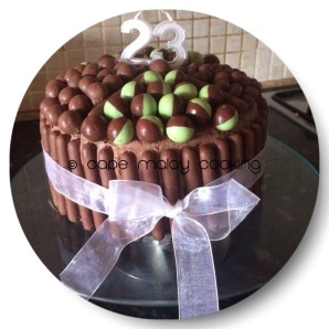 Choc Birthday Cake