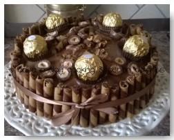 Chocolate Cake with ferrero