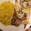 Served With Lemon Fried Rice