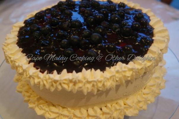 Blueberry Sponge Cake