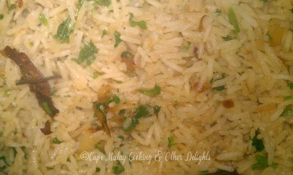 Dhanya / Coriander Rice