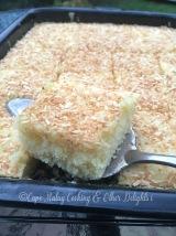 Lemon Drizzle Tray Bake